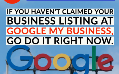 Are you in control of your Google business listing?