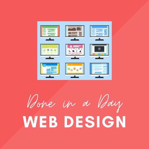 Done in a Day Web Design