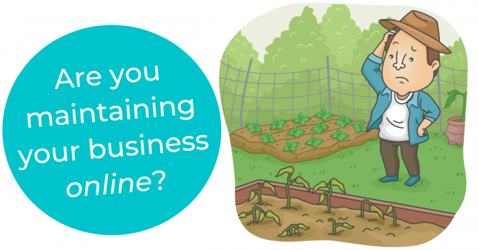 Maintaining your business presence online